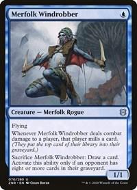 Merfolk Windrobber, Magic: The Gathering, Zendikar Rising