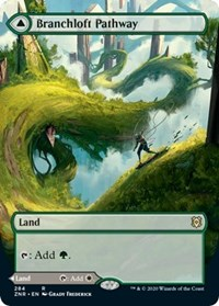 Branchloft Pathway (Borderless), Magic: The Gathering, Zendikar Rising