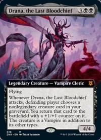 Drana, the Last Bloodchief (Extended Art), Magic, Zendikar Rising