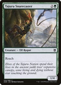 Tajuru Snarecaster, Magic, Zendikar Rising