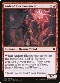 Ardent Electromancer, Magic: The Gathering, Zendikar Rising