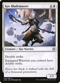Kor Blademaster, Magic, Zendikar Rising