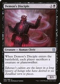 Demon's Disciple, Magic, Zendikar Rising