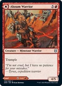 Akoum Warrior, Magic: The Gathering, Zendikar Rising