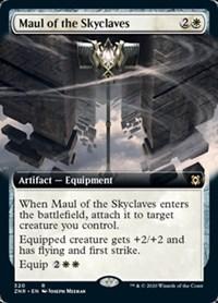 Maul of the Skyclaves (Extended Art), Magic, Zendikar Rising