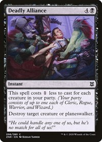 Deadly Alliance, Magic: The Gathering, Zendikar Rising