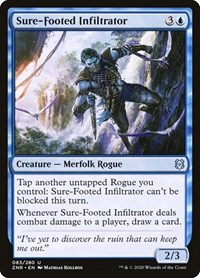 Sure-Footed Infiltrator (Foil)