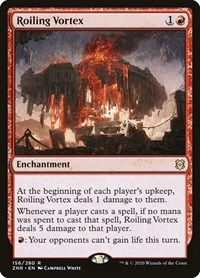 Roiling Vortex, Magic: The Gathering, Zendikar Rising