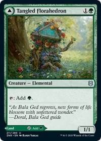 Tangled Florahedron, Magic: The Gathering, Zendikar Rising