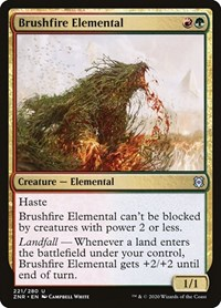 Brushfire Elemental, Magic, Zendikar Rising