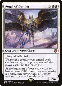 Angel of Destiny, Magic: The Gathering, Zendikar Rising