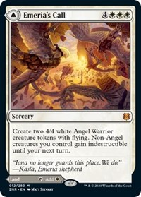 Emeria's Call // Emeria, Shattered Skyclave, Magic, Zendikar Rising