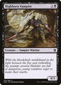 Highborn Vampire, Magic, Zendikar Rising