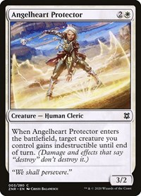 Angelheart Protector, Magic: The Gathering, Zendikar Rising