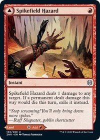 Spikefield Hazard, Magic: The Gathering, Zendikar Rising