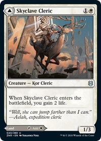 Skyclave Cleric // Skyclave Basilica, Magic, Zendikar Rising