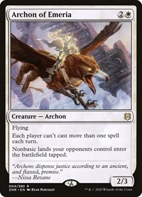Archon of Emeria, Magic, Zendikar Rising