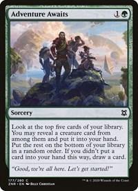 Adventure Awaits, Magic: The Gathering, Zendikar Rising