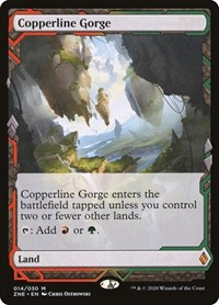Copperline Gorge, Magic, Zendikar Rising Expeditions
