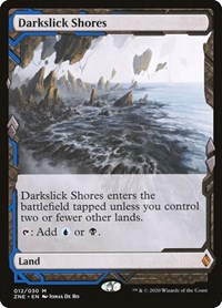 Darkslick Shores, Magic, Zendikar Rising Expeditions
