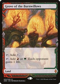 Grove of the Burnwillows, Magic: The Gathering, Zendikar Rising Expeditions