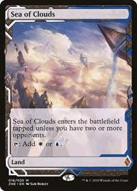 Sea of Clouds, Magic: The Gathering, Zendikar Rising Expeditions