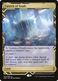 Cavern of Souls, Magic: The Gathering, Zendikar Rising Expeditions