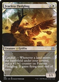 Fearless Fledgling (Showcase) (Foil)