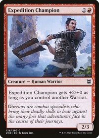 Expedition Champion, Magic, Zendikar Rising