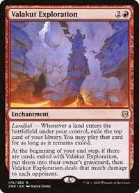 Valakut Exploration, Magic, Zendikar Rising