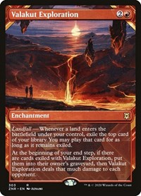 Valakut Exploration (Showcase), Magic: The Gathering, Zendikar Rising