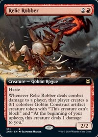 Relic Robber (Extended Art), Magic, Zendikar Rising