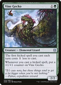 Vine Gecko, Magic: The Gathering, Zendikar Rising