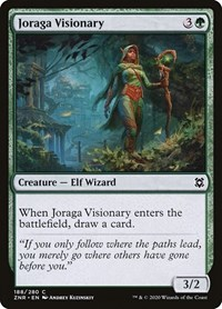 Joraga Visionary, Magic: The Gathering, Zendikar Rising