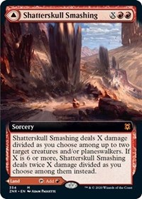 Shatterskull Smashing (Extended Art), Magic: The Gathering, Zendikar Rising