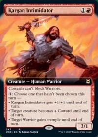 Kargan Intimidator (Extended Art), Magic, Zendikar Rising