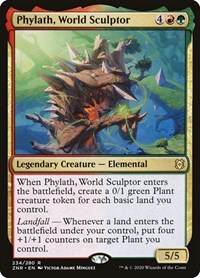 Phylath, World Sculptor, Magic, Zendikar Rising