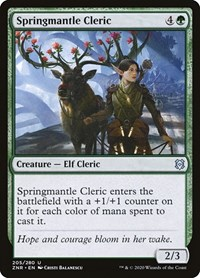 Springmantle Cleric (Foil)