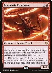 Magmatic Channeler, Magic, Zendikar Rising