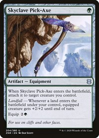 Skyclave Pick-Axe (Foil)