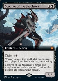 Scourge of the Skyclaves (Extended Art) (Foil)