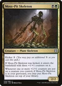 Moss-Pit Skeleton, Magic, Zendikar Rising