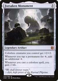 Forsaken Monument, Magic: The Gathering, Zendikar Rising