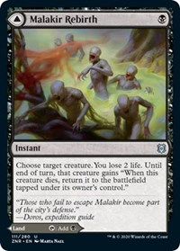 Malakir Rebirth // Malakir Mire, Magic, Zendikar Rising