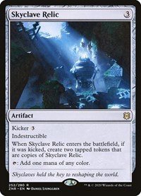 Skyclave Relic, Magic: The Gathering, Zendikar Rising