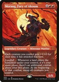 Moraug, Fury of Akoum (Showcase), Magic, Zendikar Rising