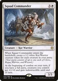 Squad Commander, Magic, Zendikar Rising