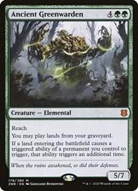 Ancient Greenwarden (Foil)