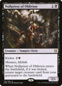 Nullpriest of Oblivion, Magic: The Gathering, Zendikar Rising
