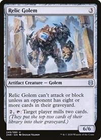 Relic Golem (Foil)